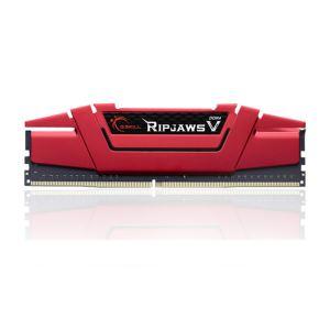 GSKILL 8GB (1x8GB) RipjawsV Kırmızı DDR4 3000MHz CL16 1.35V Single Ram