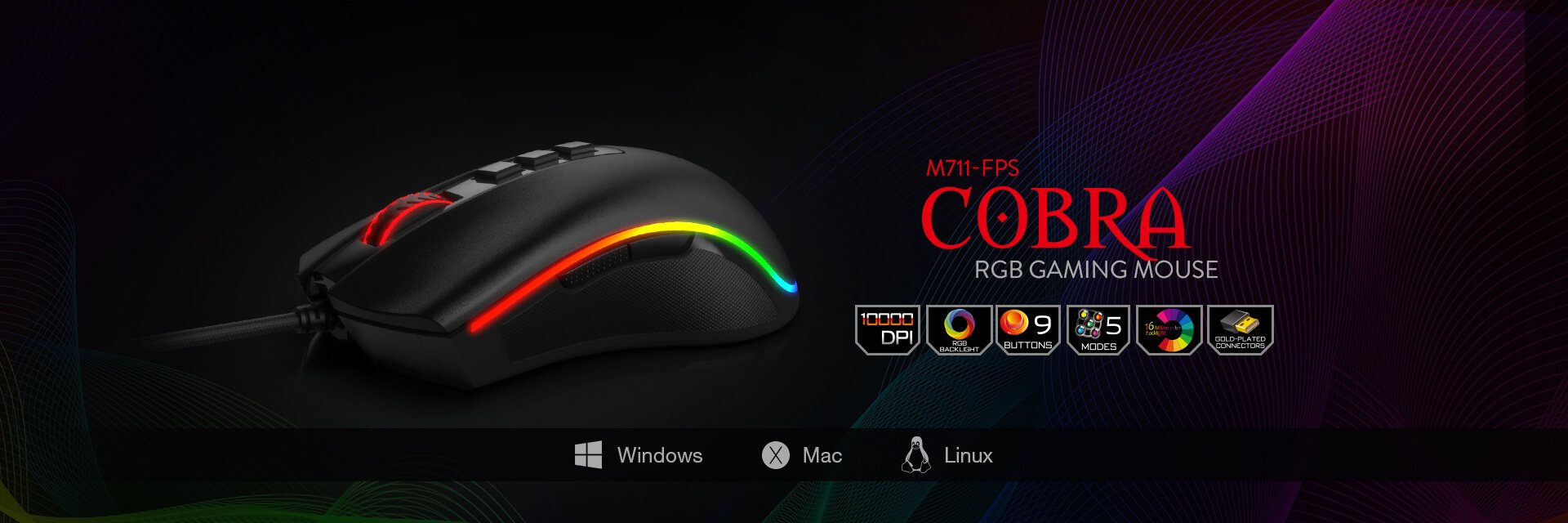 redragon cobra m711-fps